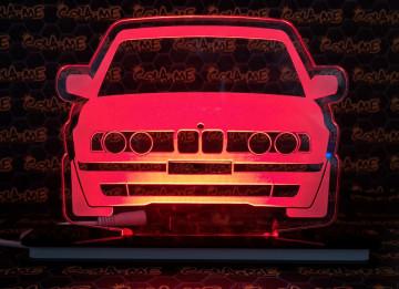 Moldura / Candeeiro com luz de presença - BMW e34
