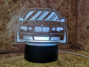 Moldura / Candeeiro com luz de presença - Bmw E46 Compact