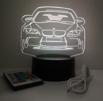 Moldura / Candeeiro com luz de presença - BMW E90/ E91 / E92 / E93