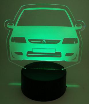 Moldura / Candeeiro com luz de presença - Citroen Saxo MK1