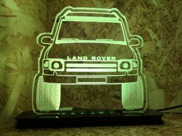 Moldura / Candeeiro com luz de presença - Land Rover discovery 300