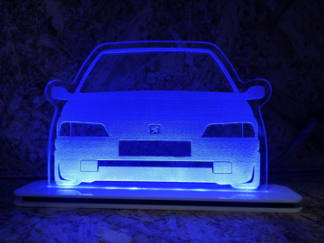 Moldura / Candeeiro com luz de presença - Peugeot 106 mk1 - Fase 1