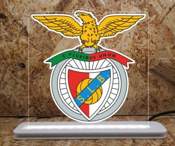 Moldura / Candeeiro com luz de presença - SLB - Benfica