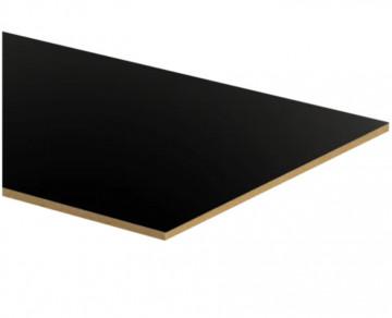 Placa MDF 3mm - Preto (uma face) | 60x40cm