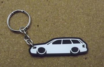 Porta Chaves com silhueta de Audi A4 B6 Avant