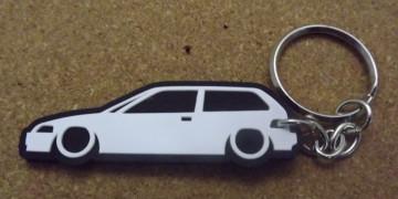 Porta Chaves com silhueta de Honda Civic EF