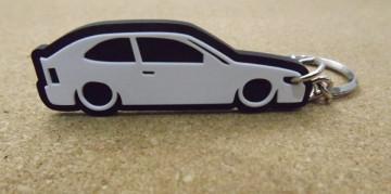 Porta Chaves com silhueta de Toyota Corolla E10 / Star Van