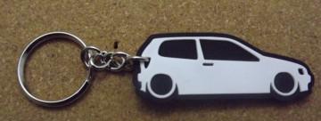 Porta Chaves com silhueta de Volkswagen Polo 6N