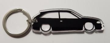 Porta Chaves de Acrílico com silhueta de Opel Astra F