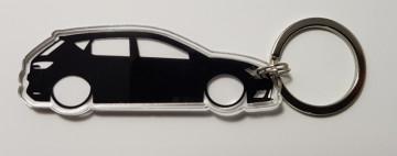Porta Chaves de Acrílico com silhueta de Seat Ibiza ST
