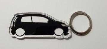 Porta Chaves de Acrílico com silhueta de VW Up