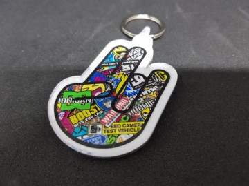Porta chaves em acrílico - Shocker - JDM Mão Bomb Sticker