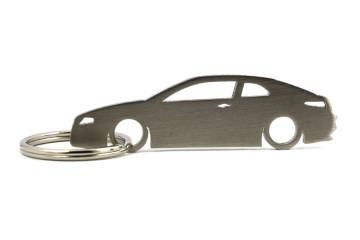 Porta Chaves em inox com silhueta com Alfa Romeo GT