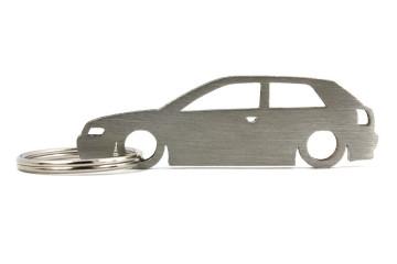 Porta Chaves em inox com silhueta com Audi A3 8L 3P