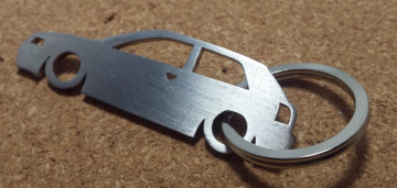 Porta Chaves em inox com silhueta com Audi A3 8L