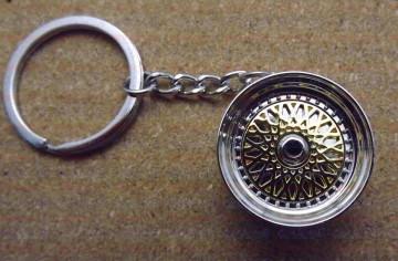 Porta Chaves - Jante tipo BBS Dourado
