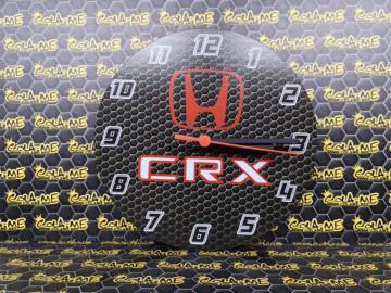 Relógio com Honda CRX