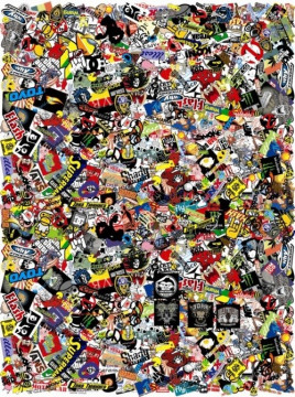 Sticker Bomb - Cartoons 3  - 20x27cm