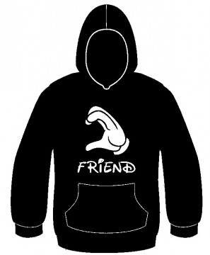 Sweatshirt com capuz - Friend
