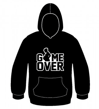 Sweatshirt com capuz -  Game Over
