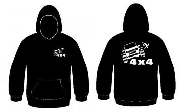 Sweatshirt com capuz - Jipe 4X4