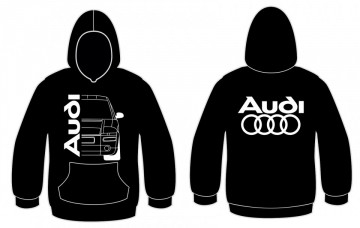Sweatshirt com capuz para Audi A2