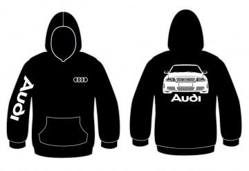 Sweatshirt com capuz para Audi A4 B5