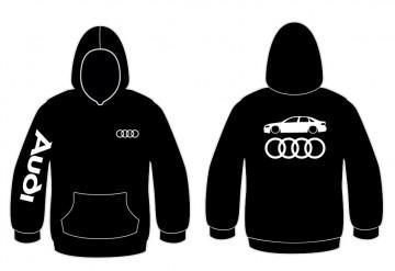 Sweatshirt com capuz para Audi A4 B8 Sedan