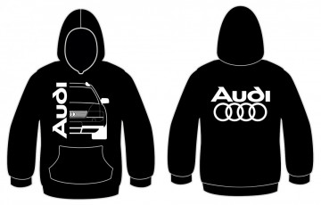 Sweatshirt com capuz para Audi A6