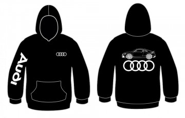 Sweatshirt com capuz para Audi TT 3.2