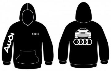 Sweatshirt com capuz para Audi TT Cabrio
