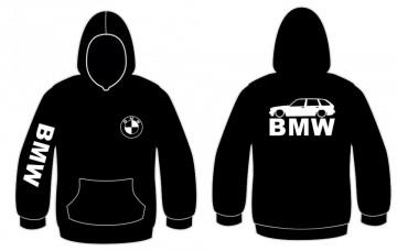 Sweatshirt com capuz para BMW E30 Touring