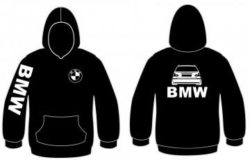Sweatshirt com capuz para BMW E46 Touring