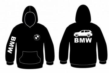 Sweatshirt com capuz para BMW X5 Lateral