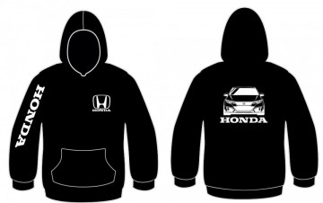 Sweatshirt com capuz para Honda Civic FN