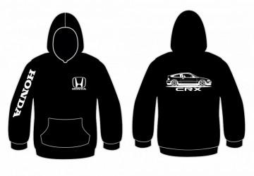 Sweatshirt com capuz para Honda CRX