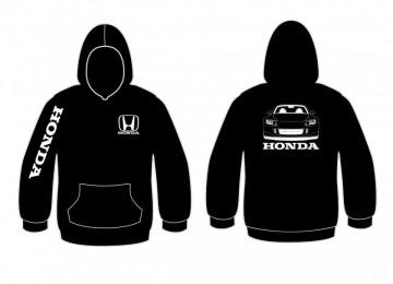 Sweatshirt com capuz para Honda S2000 Frente