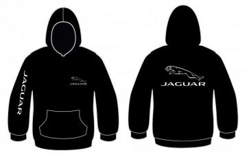 Sweatshirt com capuz para Jaguar