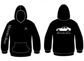 Sweatshirt com capuz para Mercedes-Benz W203