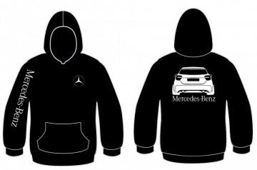 Sweatshirt com capuz para Mercedes Classe A w176