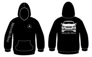 Sweatshirt com capuz para Mercedes CLA