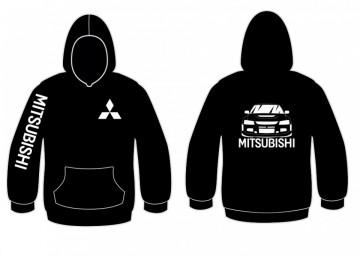 Sweatshirt com capuz para Mitsubishi Evolution iX