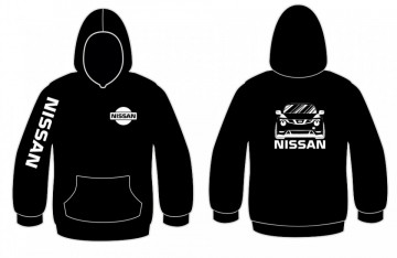 Sweatshirt com capuz para Nissan Juke
