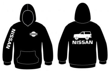 Sweatshirt com capuz para Nissan Patrol W260