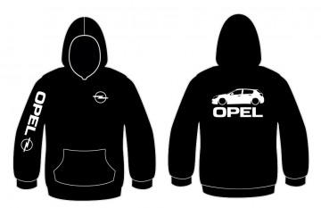 Sweatshirt com capuz para Opel Astra H