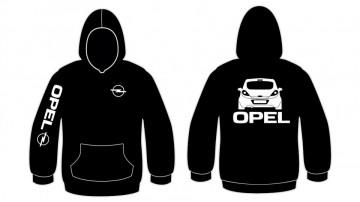 Sweatshirt com capuz para Opel Corsa D