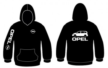 Sweatshirt com capuz para Opel Zafira
