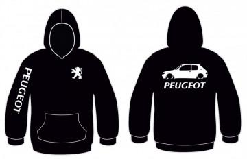Sweatshirt com capuz para Peugeot 205