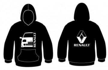 Sweatshirt com capuz para Renault Clio MK2 Fase 1
