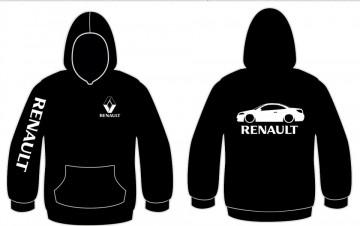 Sweatshirt com capuz para Renault Megane CC